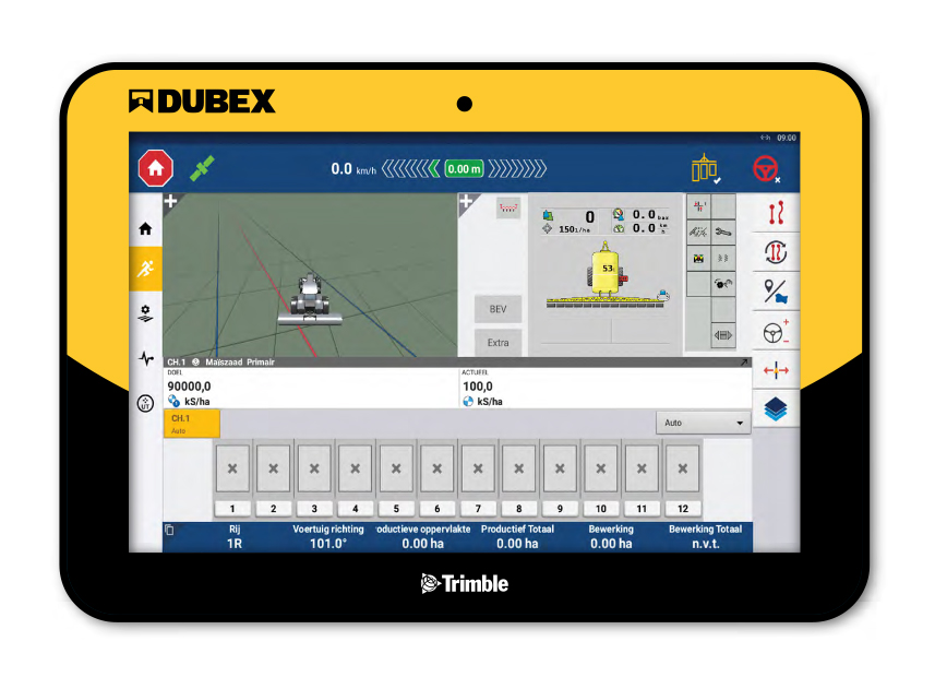 Trimble-terminal Dubex Spector