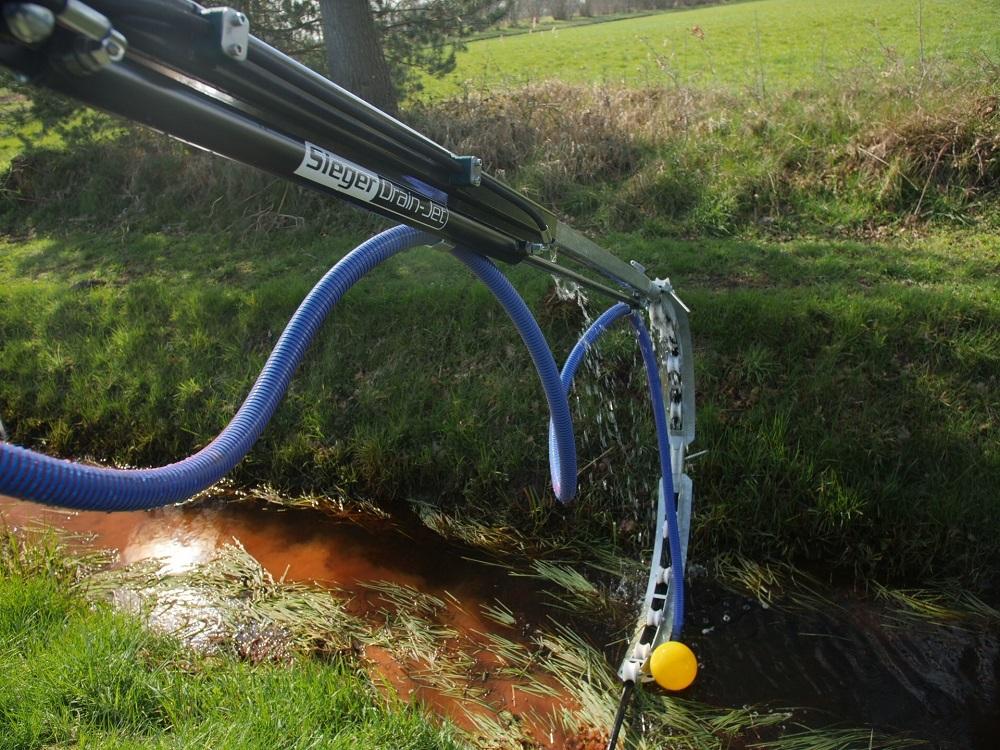 Met GPS-techniek je drainagesysteem beheren
