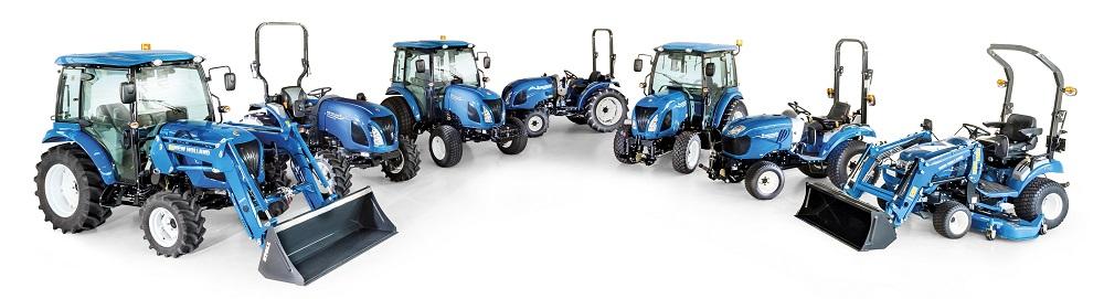 New Holland voert compacte tractoraanbod op: Stage V Boomer-serie
