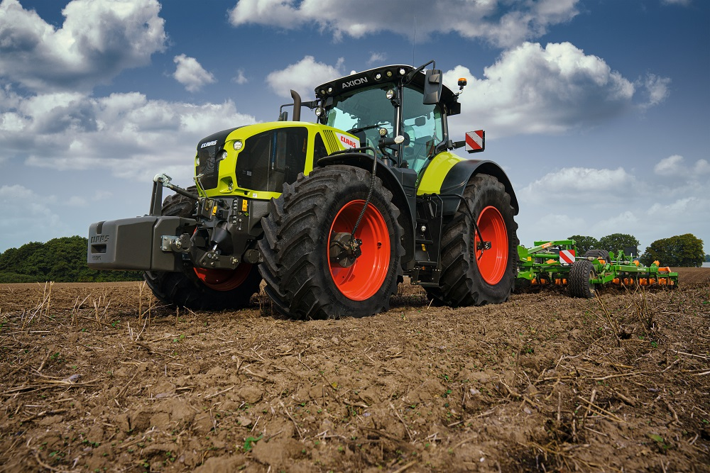 CLAAS AXION 960 CEMOS duurzaamste tractor van 2021