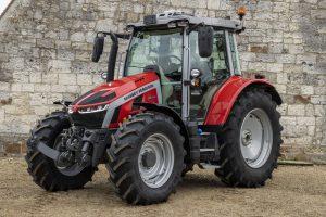 MF 5S-serie: Vijf nieuwe modellen van 105 tot 145 pk
