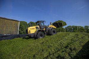 New Holland W 170 D wiellader: graag geziene gast in het land en op de kuil