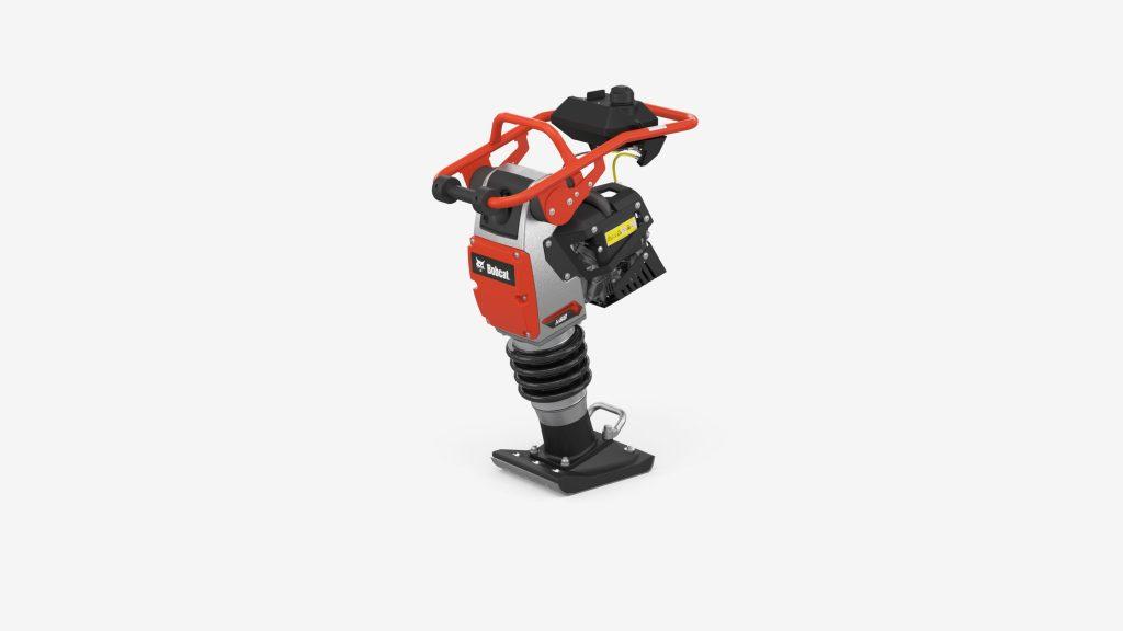 Bobcat rolt nieuwe reeks lichte verdichtingsproducten uit - Trilstamper R68