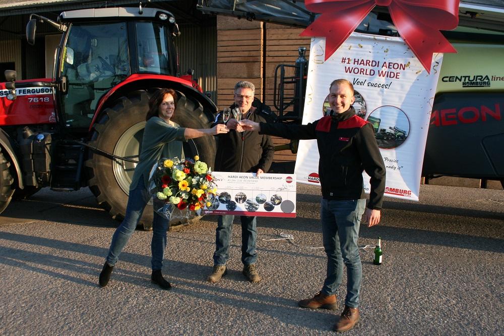 Eerste HARDI AEON wereldwijd overhandigd in Rutten