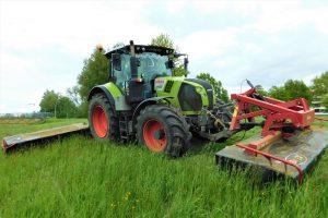 Van der Weerd Grafhorst wil met maaiers overlevingskans flora en fauna vergroten
