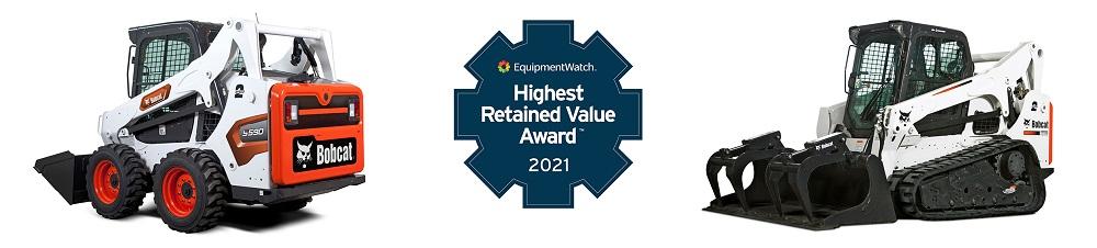 Bobcat wint de Highest Retained Value Award