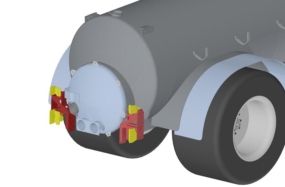 Bomech UP sleepvoetbemester: Flexibel, compact en voor elke tank